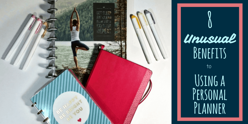 8 Unusual Benefits to Using a Personal Planner