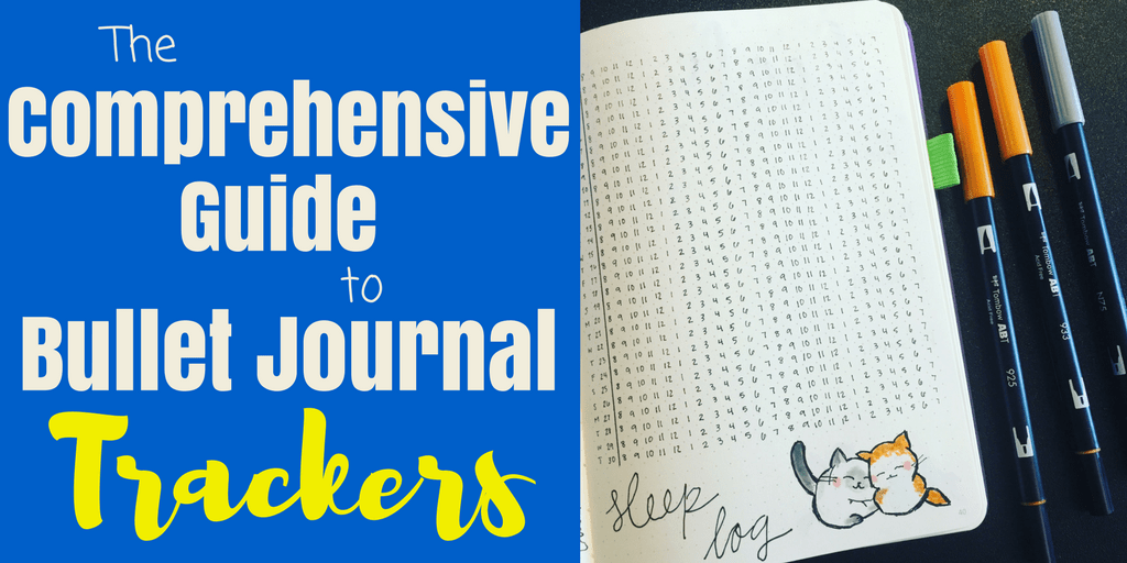 The Best Bullet Journal Trackers Guide for Beginners