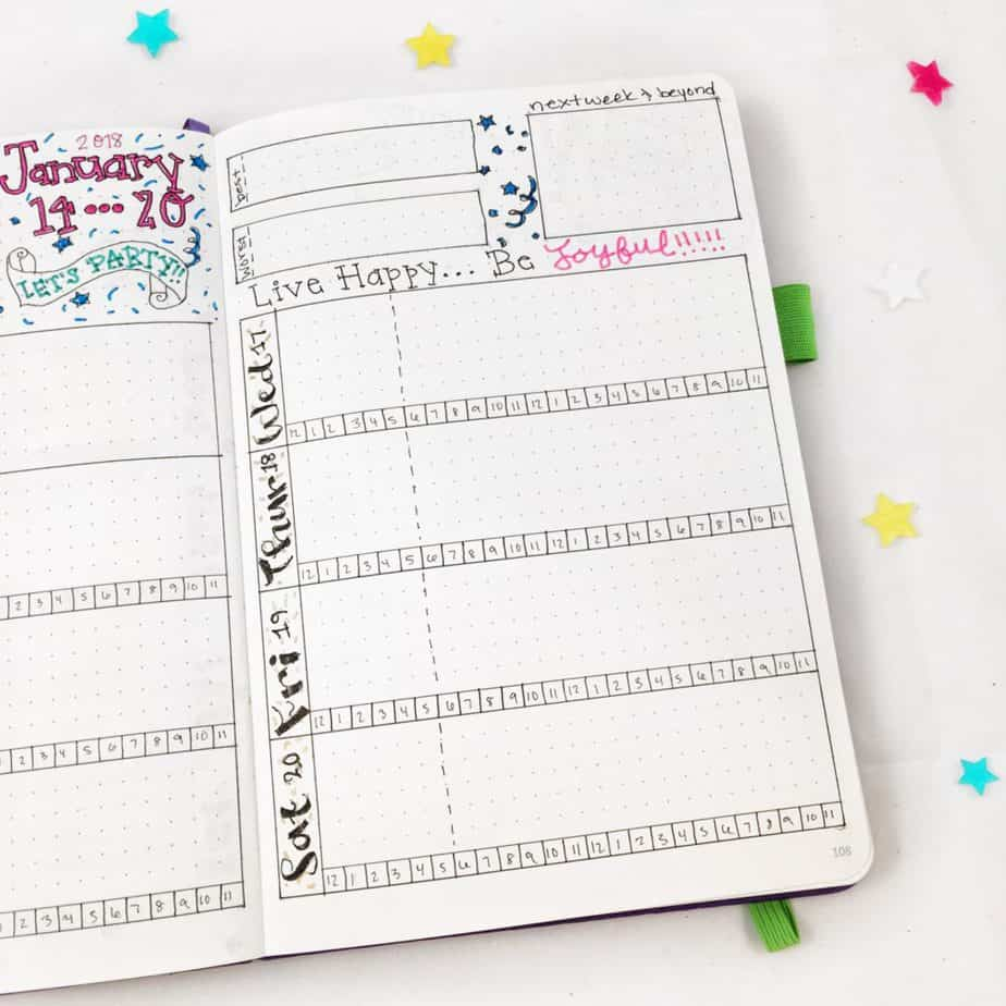 Bullet Journal Weekly Layout 12 Tips For A Stellar Set Up