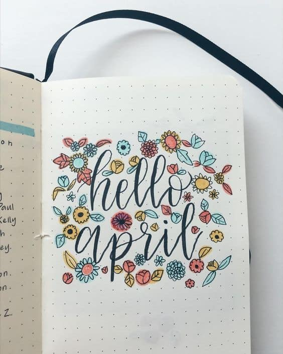 Ready to start Spring? Well, there are tons of ideas to set up for the new season in your bullet journal! These inspirational Spring bullet journal spreads include weekly layouts, monthly spreads, trackers and collections, along with awesome supplies and doodles to make any page pretty. #bulletjournal #bulletjournalideas #bujo #planner #diy #spring