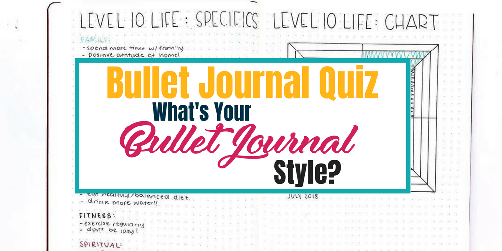 Bullet Journal Quiz: What's Your Bullet Journal Style?