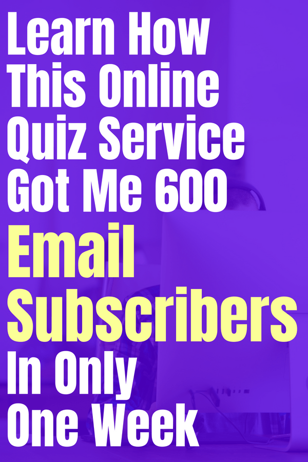 Learn how this online quiz service got me 600 email subscribers in only one week. Interact is an amazing quiz creating company that helps you make quizzes that will connect you with your audience on your blog or website. Get better engagement and learn more about your niche by creating a quiz! #creataquiz #onlinequizzes #personalityquiz