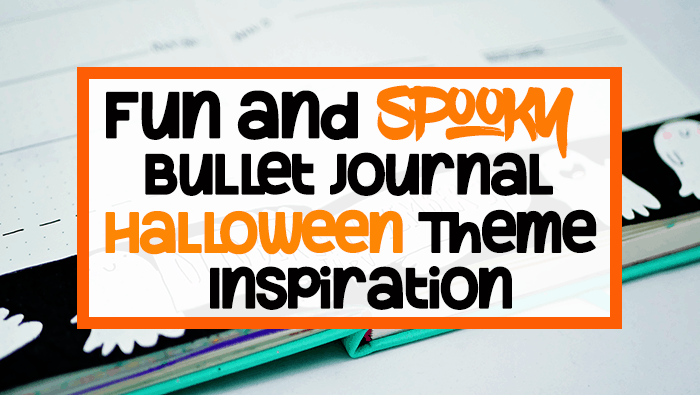 Fun and Spooky Bullet Journal Halloween Theme Inspiration